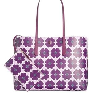 Kate Spade New York Molly Graphic Clover Tote